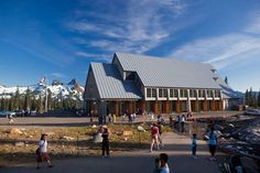 Wow! The Paradise Visitor Center on Mt. Rainier is totally different than when I was last there