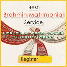 HIGH STATUS BRAHMIN'S MATRIMONIAL SERVICES 91-09815479922 INDIA & ABROAD: BRAHMIN'S BRAHMIN'S MATCH MAKING SERVICES 09815479...
