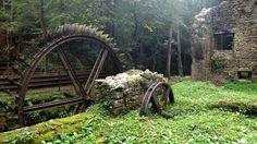 Inside Old Abandoned Hotels | Abandoned Blade Mill, France