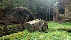 Abandoned Blade Mill, France.