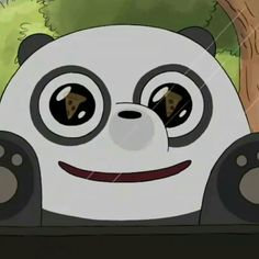 Pan-pan   ice b Cartoon Tv Shows, Cartoon Pics, Cute Cartoon, Ice Bear We Bare Bears, We Bear, We Bare Bears Wallpapers, Cute Wallpapers, Panda Art, Animated Icons