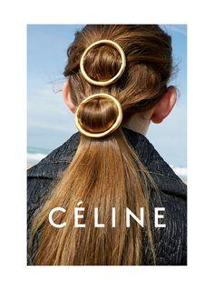 Celine Spring 2015 Campaign - Spring Hair Trends
