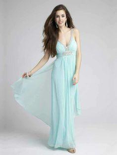 Sleeveless Ruffles Prom Dresses