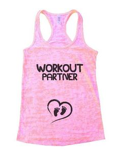 Workout Partner Burnout Tank Top By Womens Tank Tops
