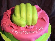 Zayn's b-day cake