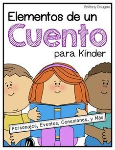 Are you looking for more ways to reinforce story elements and story comprehension with your kindergarteners or first graders? You will find 44 different Spanish worksheets that can be used with any story that you choose. Students will have a chance to think about characters, setting, story sequence, genre, their personal opinion of the story, and more!