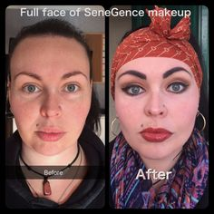 Here is a makeover using all SeneGence products...Smudgeproof and waterproof for up to 18 hours!  www.facebook.com/LipCandyGeelong