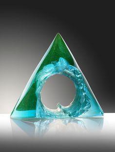 Petr Stacho-WAVE-uranium glass