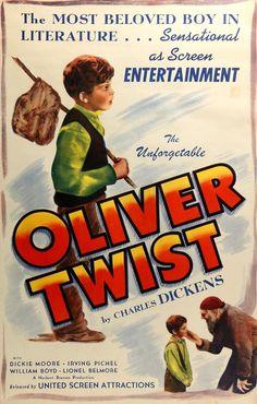 Oliver Twist (1933) Original R1945 One-Sheet Movie Poster