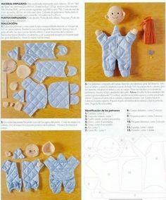 Como fazer um bebezinho de tecido passo a passo - Artesanato Passo a Passo!