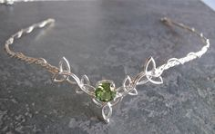 Wedding Bridal Celtic Headpiece Circlet Trinity Knot by Camias, $219.00