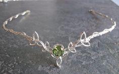 Wedding Bridal Celtic Headpiece Circlet Trinity Knot by Camias, $219.00