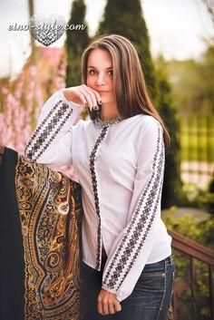 Ukrainian beauty folk fashion