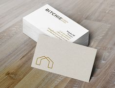 Ritchie Custom Homes Business Cards