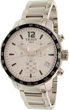 36a08bf02 Tissot Men's T-Sport T095.417.11.037.00 Silver Stainless-Steel Swiss Quartz  Dress Watch
