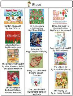 Christmas Book List (visual): 540 Christmas Books Teacher's Resource$