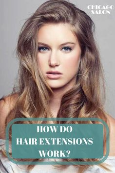 Learn more about different types of hair extensions, how do they work and more ... #hair #hairtips #hairextensions #beauty #hairstyle #chicagohairextensionssalon