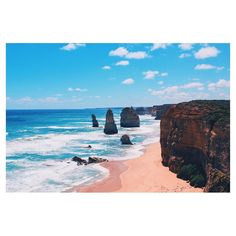 End of the #GreatOceanRoad with the grand final: #12apostles  #Victoria #twelveapostles #Australia #Wanderlust #picoftheday by lrs.rmn http://ift.tt/1ijk11S