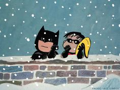 The Charlie Brown Batman Holiday Special (animated .gif)