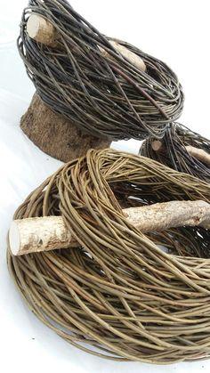 Interlace baskets by Sue Kirk