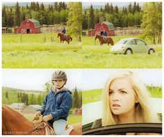 "Mallory returns!  ""Who are you and what are you doing on my horse?""  Heartland - 6x03 - Keeping Up Appearances"