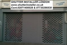#ShutterInstallationLondon SHUTTER INSTALLER LONDON www.shutterinstaller.co.uk Cont.02071400028 & 07730286838