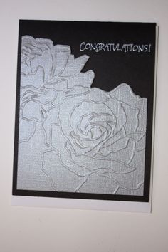 Manhattan Flower Textured Impressions Embossing Folder