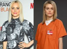 Taylor Schilling (Piper Chapman) from Orange Is the New Black Cast In and Out of Costume | E! Online