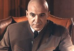 Ernst Stavro Blofeld  (Telly Savalas)  On Her Majesty's Secret Service  1969    Scheme: Blofeld is back with a plan to unleash viruses that will decimate the globe's various agricultural resources unless he receives immunity for his previous crimes, as well as a nobleman's title.    How He Dies: He doesn't. He is thought to have broken his neck in the final battle, but returns in the film's closing moments to help kill newlywed Bond's bride Tracy.