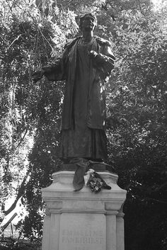 Statues of Emmeline Pankhurst, London