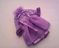SALE OOAK lilac dress for Blythe by RainbowDaisies on Etsy