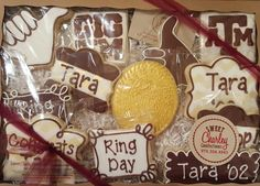 Texas A&M Sugar Cookies https://www.facebook.com/sweetcharleyconfections