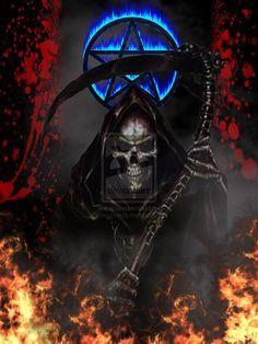 The Grim reaper by kayshalady.deviantart.com on @deviantART