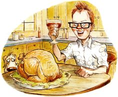 I remember my first turkey. I was 25; it was 20 pounds. I had no idea what I was doing, so I snagged a recipe from a glossy food mag that promised to produ