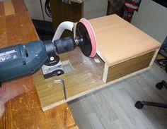 Tellerschleifer mit Bohrmaschine Bohrmaschine,Werkstatt,Tellerschleifer
