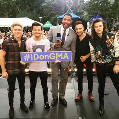 The guys were live on Good Morning America! Who tuned in? #1DonGMA