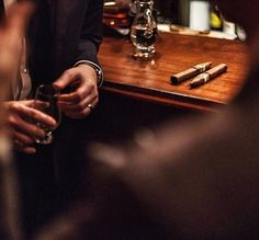 Even when a deal is dead you share a Scotch and a Padron with the other side. Class has no conditions. by enfuegovegas