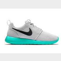 The summer-ready Nike Roshe One in Pure Platinum/Calypso is available now.