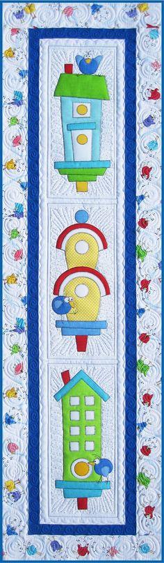 Amy Bradley Designs Meet the Tweets quilt pattern