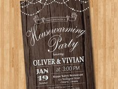 house warming party invitation by memorableimprints on. Black Bedroom Furniture Sets. Home Design Ideas