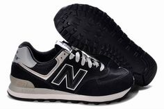 Joes New Balance ML574BBK Sneakers Black Grey Lovers Mens Shoes