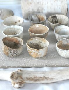love the tone on tone colors.Nancy Bauch, White forest Pottery …