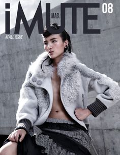 fashion editorials, shows, campaigns & more!: rolling in the deep: lu ping by pine yip for imute fall 2014 Fall Winter 2014, Winter Hats, Wilhelmina Models, Magazine Design, Editorial Fashion, Marc Jacobs, Fashion Show, Fur Coat, Stylists