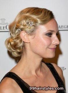 wavy blonde wedding hairstyle - 99 Hairstyles Ideas