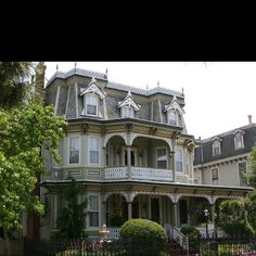 I love Victorian homes Ooh, love the widow's walk and all the lacy gingerbread trim!