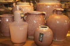 Oud roze potten van Brynxz
