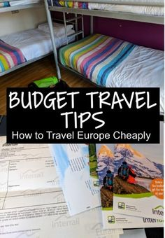 Here are my top 12 budget travel tips to help you travel Europe cheaply, simply follow these rules to save money travelling #travel #europe #savings