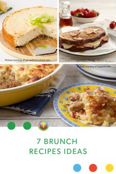 7 delicious brunch recipes to create at home so you don't need to wait in line. No Dairy Recipes, Fruit Recipes, Egg Recipes, Potato Recipes, Pork Recipes, Chicken Recipes, Vegetarian Recipes, Barley Recipes, Bison Recipes