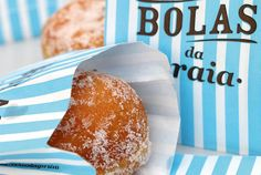 Bola de Berlim, Beach-time snack, Portugal