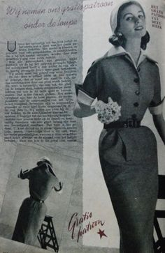 fitted dress, Beatrijs 1951